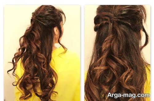 مدل موی باز و شیک برای عروسی