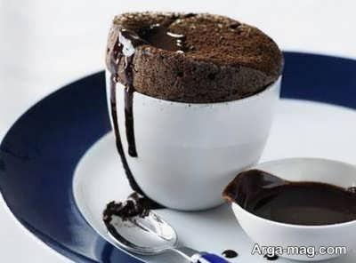 طرز تهیه سوفله شکلات بسیار خوشمزه