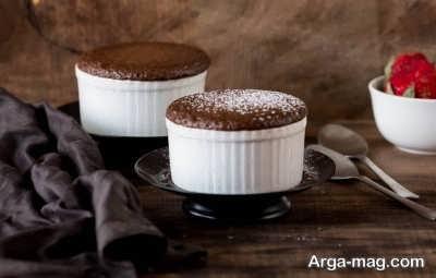 طرز تهیه سوفله شکلاتی به آسانی
