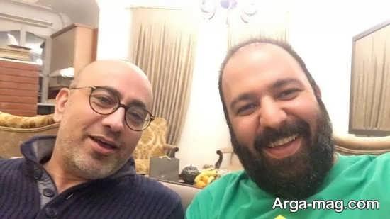 سلفی علی اوجی و مرحوم عارف لرستانی