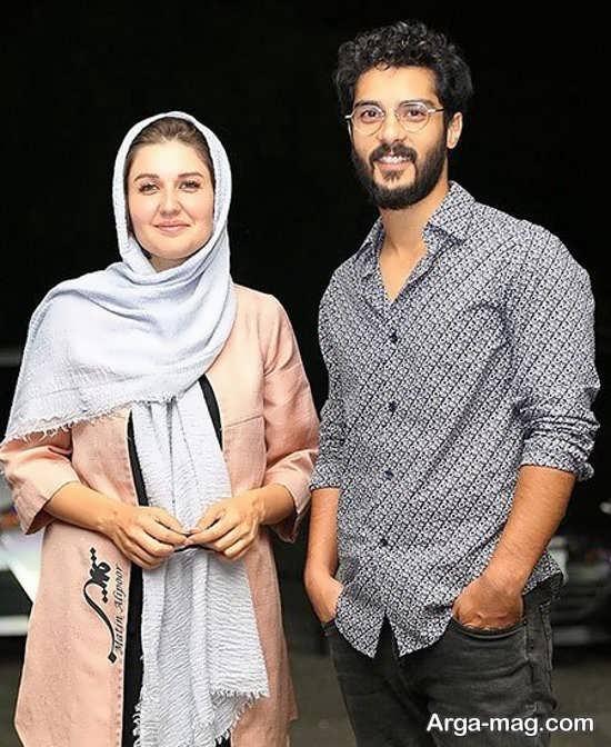 عکس زیبای ساعد سهیلی و همسرش