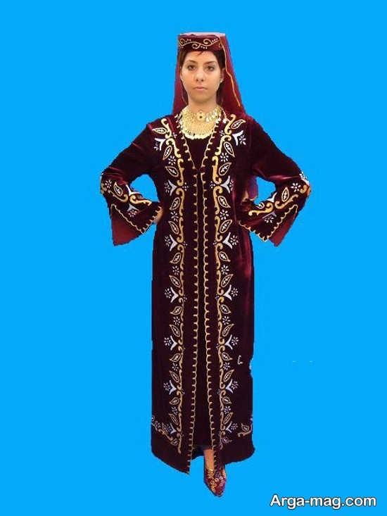 مدل لباس آذری زنانه