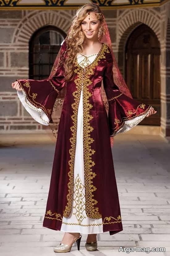 لباس سنتی زنان آذری