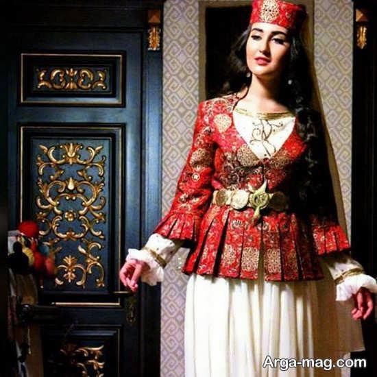 لباس زیبا زنان آذری