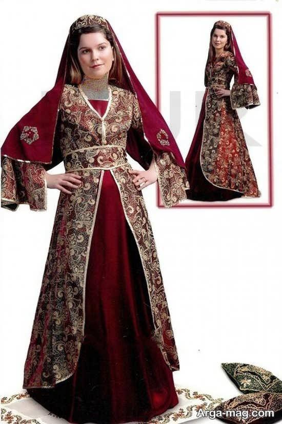 لباس آذری زیبا