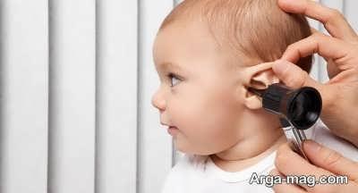 علل عفونت و درد گوش نوزاد