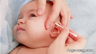 درمان گوش درد طبیعی نوزاد