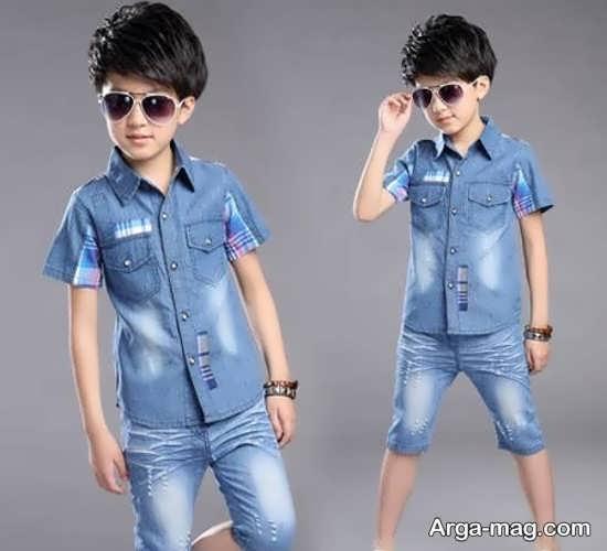 مدل جدید لباس پسرانه