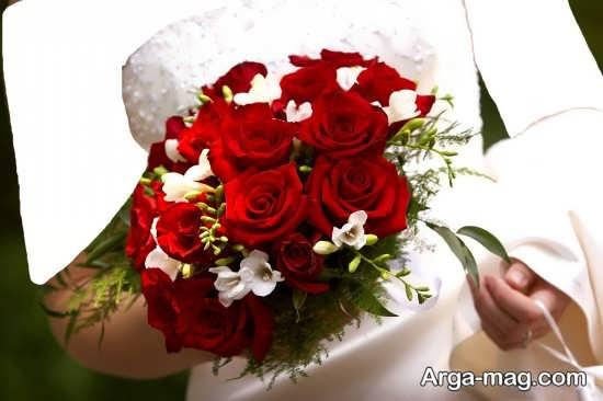 مدل دسته گل جدید و شیک عروس