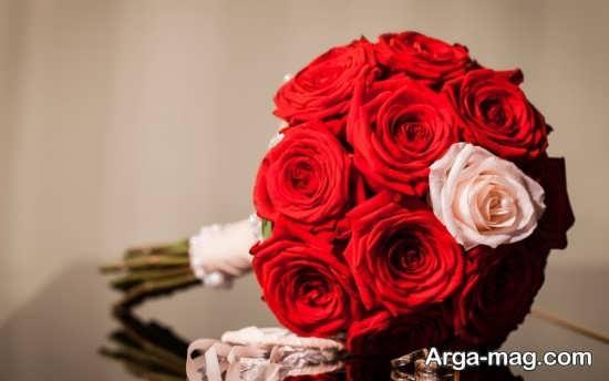 مدل دسته گل شیک و متفاوت عروس