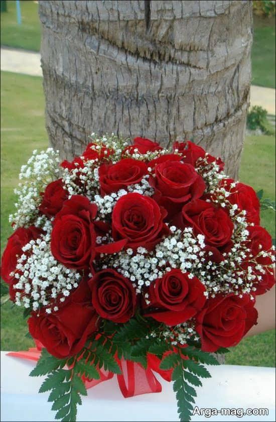 مدل زیبا و جذاب دسته گل برای عروس