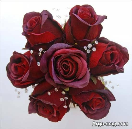 مدل دسته گل رز برای عروس