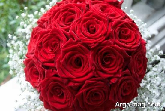مدل شیک و جدید دسته گل عروس