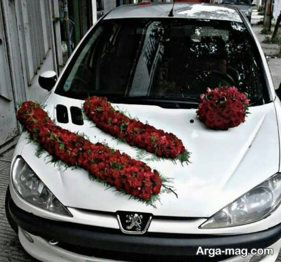 ایده هایی برای تزیین کردن ماشین عروس پژو 206
