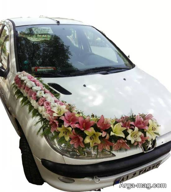 ماشین عروس پژو 206