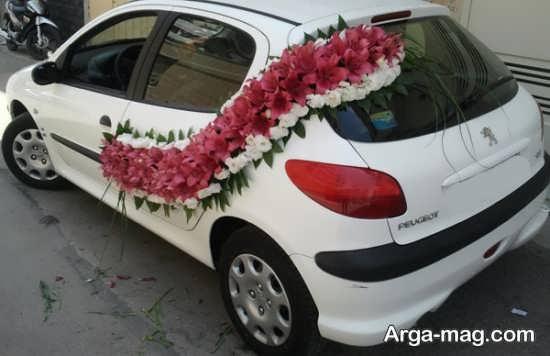 تزیین جالب و شیک ماشین عروس