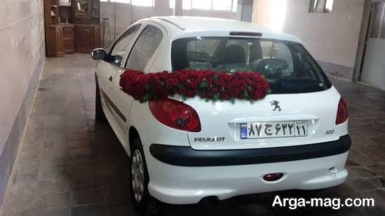 تزیینات دوست داشتنی ماشین عروس