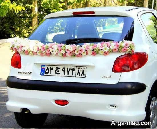 مدل ماشین عروس زیبا