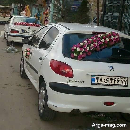 شیک ترین ماشین عروس ۲۰۶