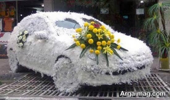 مدل ماشین عروس با دیزاینی متفاوت