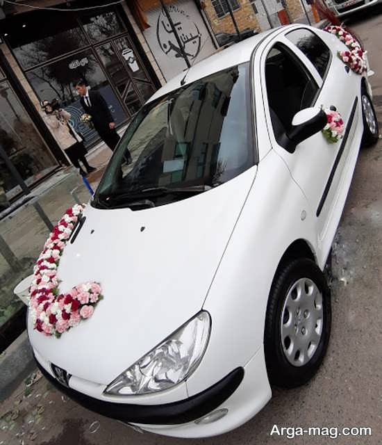 تزیینات ایده آل ماشین عروس