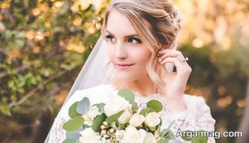 مدل رنگ موی عروس