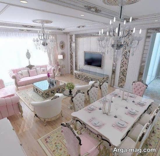 دیزاین شیک خانه عروس