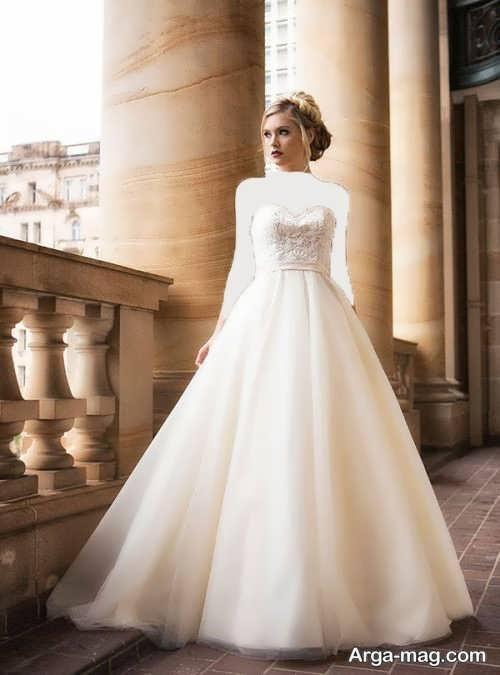 مدل شیک و جذاب لباس عروس