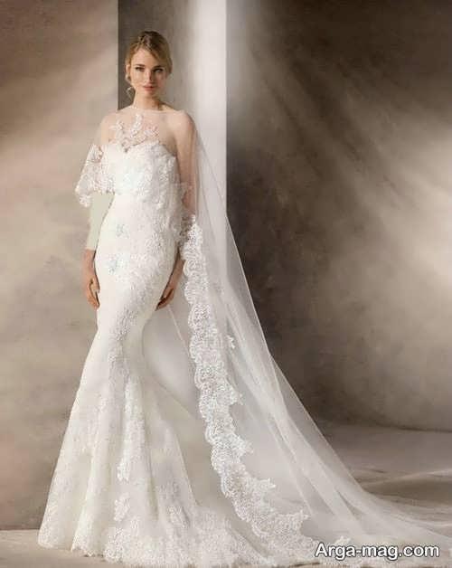 مدل پیراهن عروس گیپور