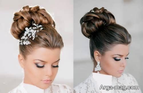 رنگ مو روشن و تیره برای عروس