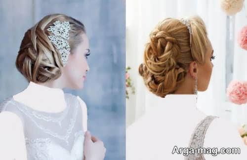 رنگ موی عروس خاص و متفاوت