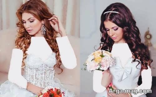 رنگ مو خاص و جذاب برای عروس