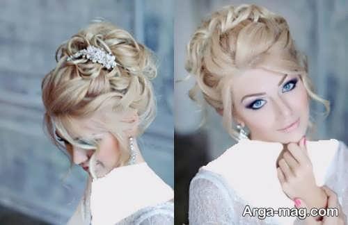 رنگ موی روشن عروس