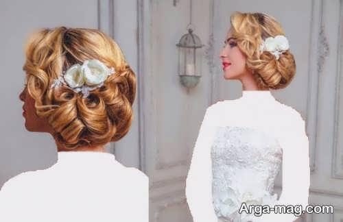 مدل شیک و جذاب رنگ مو عروس