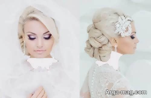 رنگ موی جدید و شیک عروس