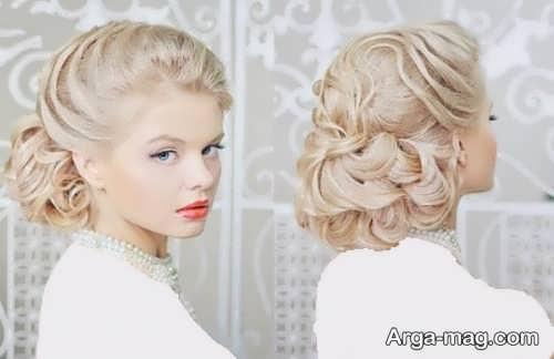 مدل رنگ موی عروس زیبا و جذاب