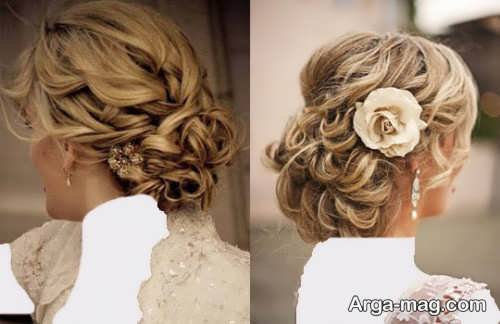مدل رنگ موی عروس خاص و متفاوت
