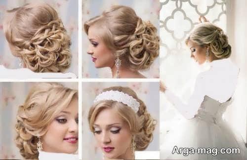 مدل های رنگ موی عروس