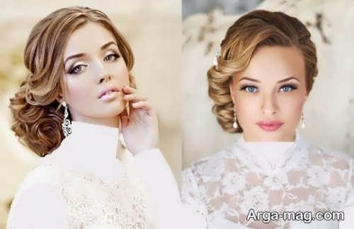 رنگ مو تیره عروس