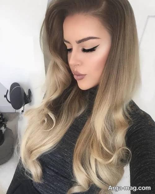 فرمول رنگ موی کاراملی روشن به همراه تصاویر این رنگ مو