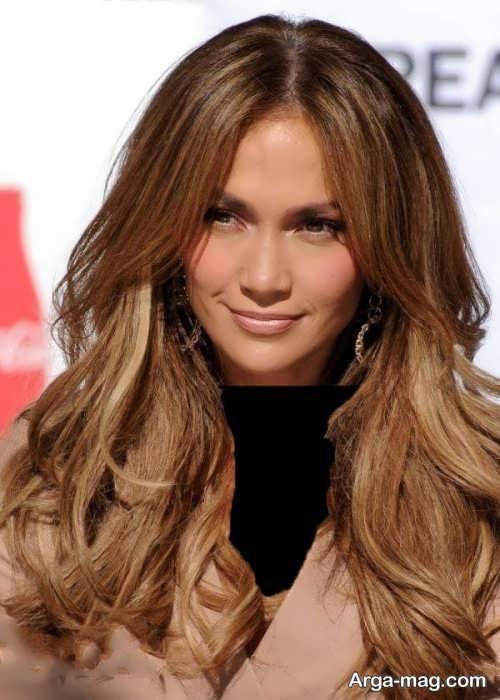 رنگ مو شیک و متفاوت کاراملی
