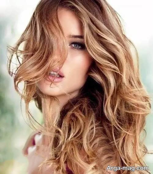 رنگ مو کاراملی خاص و جدید