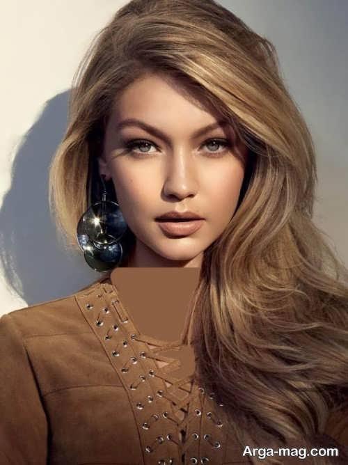 رنگ موی زنانه کاراملی روشن