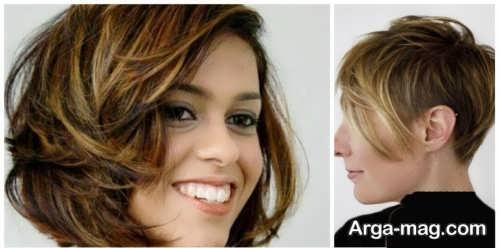 رنگ موی جذاب و متفاوت کاراملی روشن