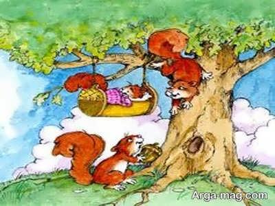 قصه نی نی سنجاب ها
