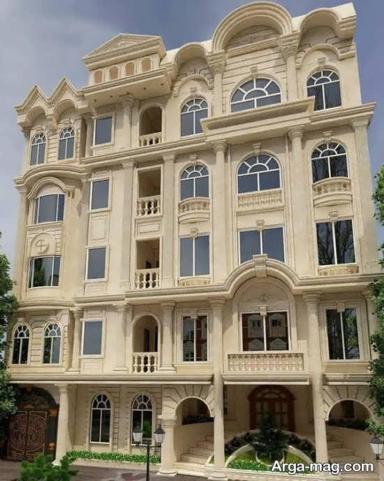 تصاویری از نما کلاسیک ساختمان
