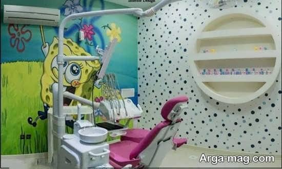 دکور زیبای مطب دندانپزشکی