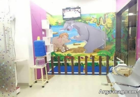 تصاویر مطب دندانپزشکی اطفال