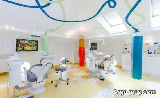 دکوراتیوی از مطب دندانپزشکی