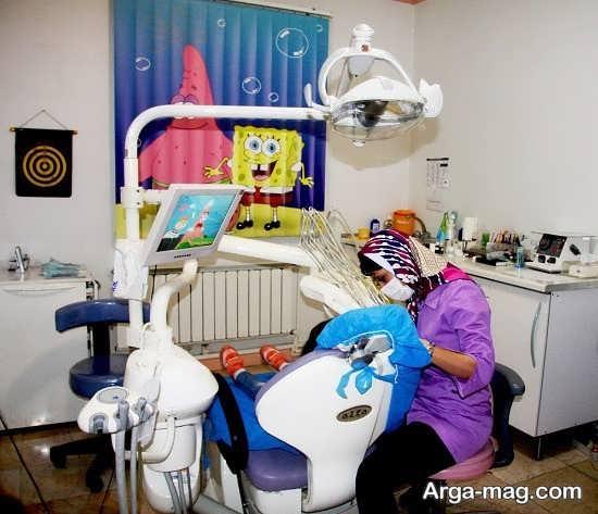 دکور جالب مطب دندانپزشکی